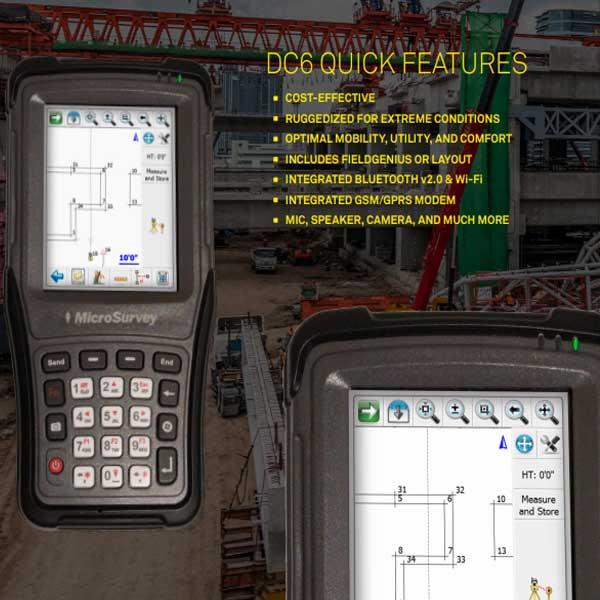 MicroSurvey DC6